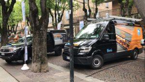 Festa dei Ciliegi in Fiore con allestimento furgone
