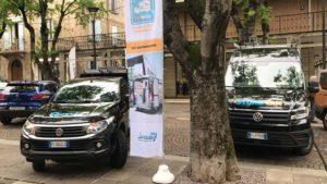 Festa dei Ciliegi in Fiore con furgone allestito