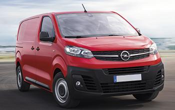 Allestimenti furgoni Opel Vivaro 2019