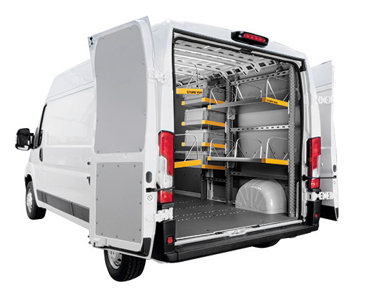 Mensole pieghevoli per furgoni
