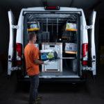 Repisas plegables ideales para el transporte de equipos y electrodomésticos