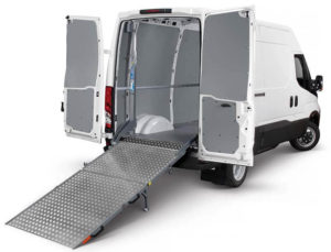 Van loading ramps