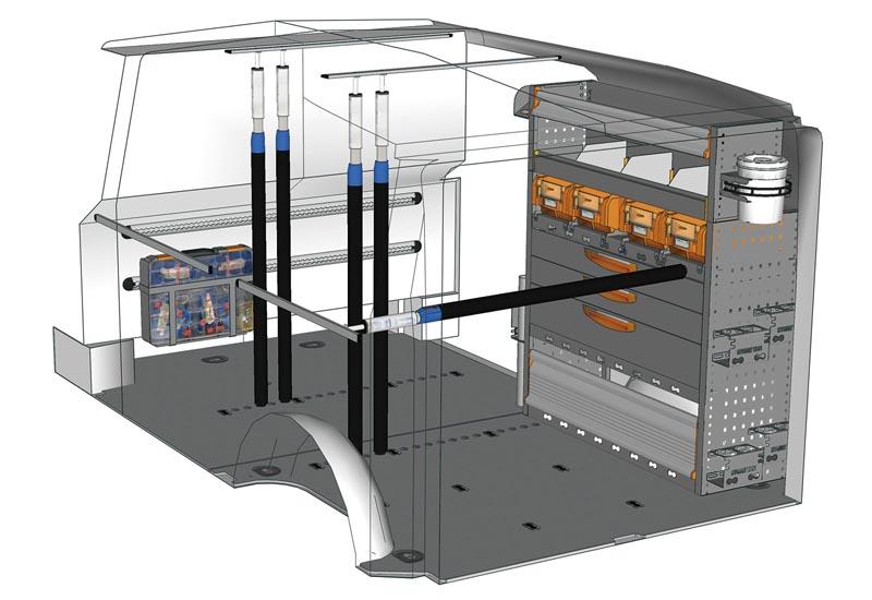 Van equipments Vito Professional VT L1H1 P2