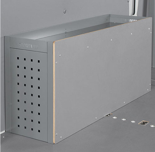 Wheel arch boxes for vans