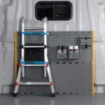 Bulkhead system with accessories and equipment attached safely