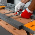 Oszczędzające przestrzeń składane nóżki z szybkim zamykaniem