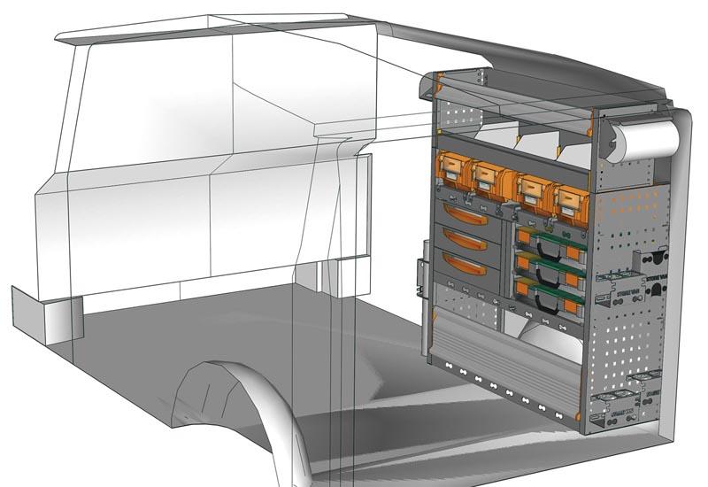 Van equipments Vito VT 1012 P1