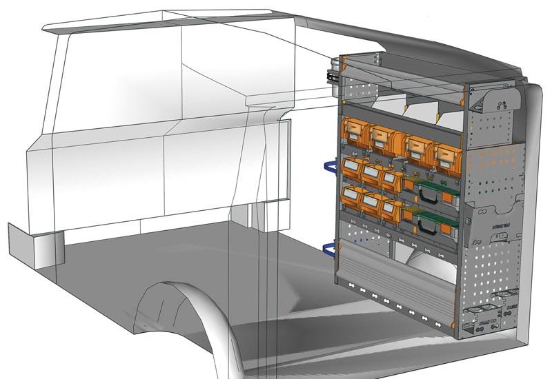 Van equipments Vito VT 1012 P2