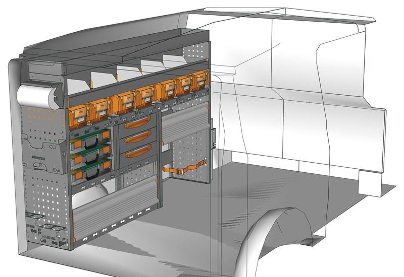 Van equipments Vito VT 1712 P1