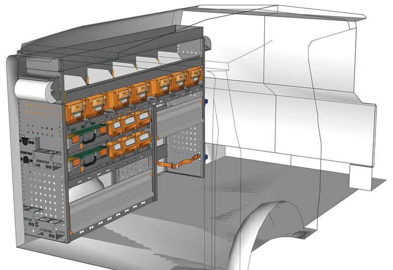 Van equipments Vito VT 1712 P2