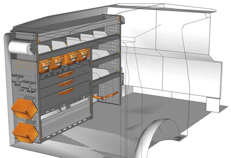 Van equipments Vito VT 1712 P3