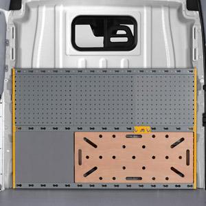 Protector de mampara para la parte posterior de la cabina