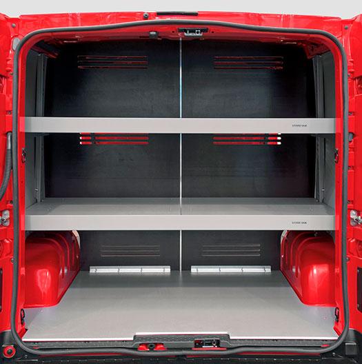 Equipamiento para distribución automática Renault Trafic