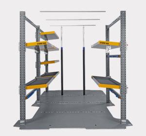 Aménagements intérieurs Light Shelf pour fourgon Volkswagen Crafter