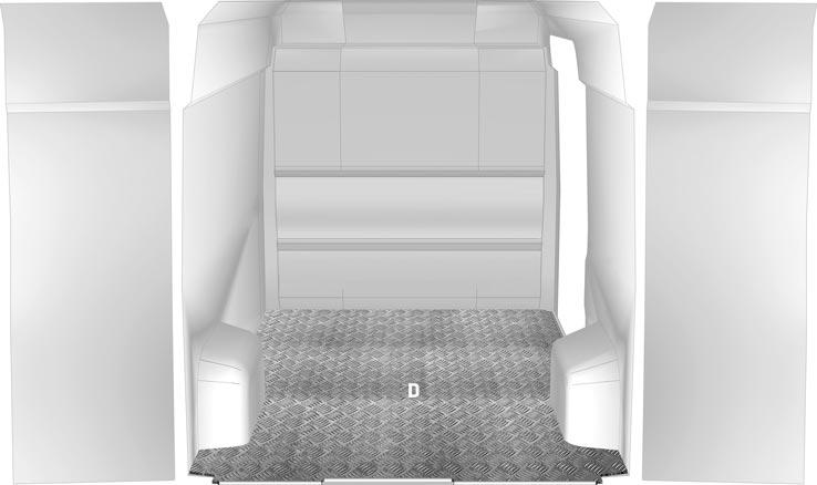 Pianale Ducato - Aluminium