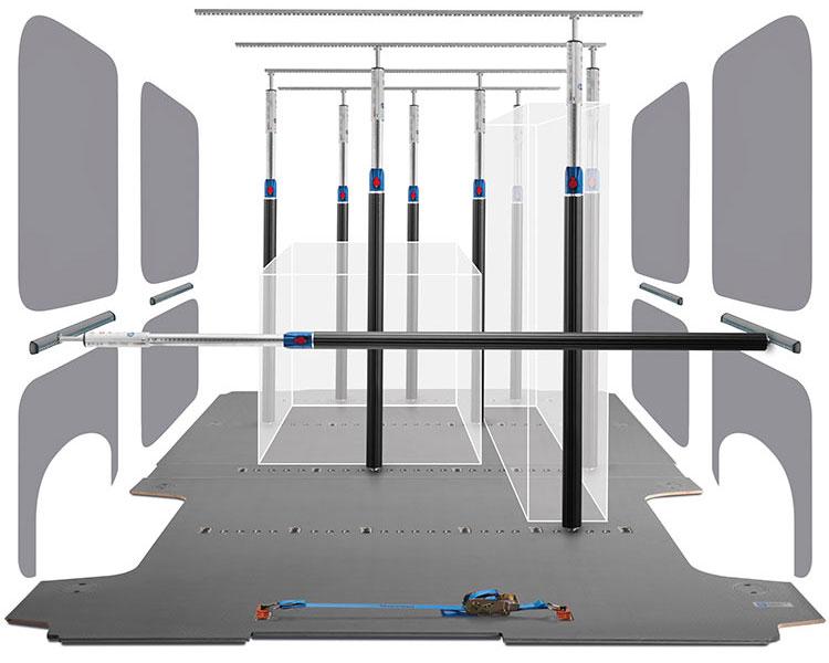 Revêtement intérieur et plancher pour Volkswagen Crafter